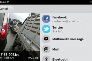 Nokia N9 'simple' hack to enable twitter twitpic from Gallery