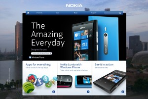 Nokia Singapore site updated