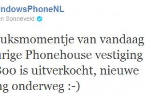 Nokia Lumia 800 sells out at ThePhoneHouse, Netherlands