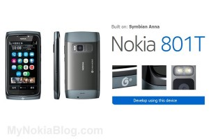 Nokia 801T Technical Specifications, 680MHz, 8MP EDoF
