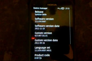 Video: Symbian Belle on Nokia E7 (v111.030.0607.48.01) and instructions for belle? (Updated with longer videos)