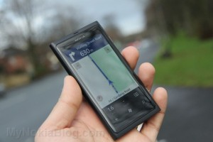 Nokia Drive, for Pedestrian walking on the Nokia Lumia 800?