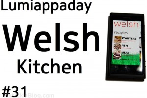 Lumiappaday #31: Welsh Kitchen demoed on the Nokia Lumia 800