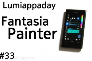 Lumiappaday #33: Fantasia Painter demoed on the Nokia Lumia 800