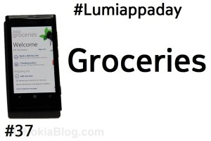 Lumiappaday #37: Groceries demoed on the Nokia Lumia 800 (Tesco shopper app)