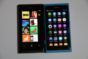 User Comparison of Nokia Lumia 800 and Nokia N9