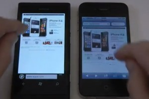 Technobuffalo's Nokia Lumia 800 vs iPhone 4 video makes iFanboys cry