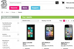 Nokia Lumia 800 tops ThreeUK&#8217;s Best Sellers list, also on Vodafone&#8217;s Best Sellers list for business