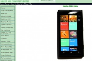 Nokia Lumia 900 sale listing? Hang on a minute&#8230;
