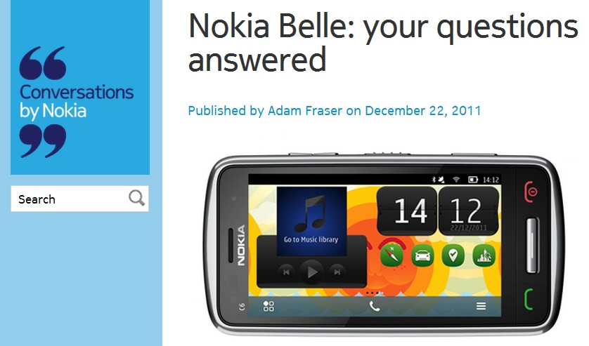 Nokia belle epub reader