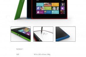 My Dream Nokia #38: Another look at a beautiful Lumia/N9 style Windows 8 ARM tablet #concept