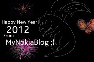 Happy New Year from MyNokiaBlog :) 2012 Year of the Nokia :D