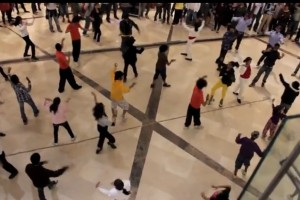 Video: Nokia Lumia 800 Flash Mob by Nokia India