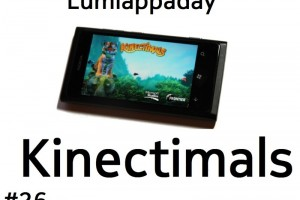 Lumiappaday #26: Kinectimals demoed on the Nokia Lumia 800 #XboxLive