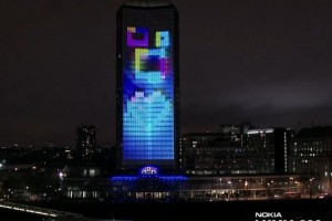 Weekend Watch: Nokia Lumia Live ft deadmau5 lights up London with amazing 4D projection