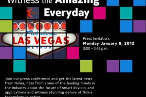Nokias CES Conference Gets Official With Press Invite.