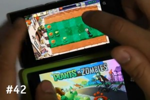 Lumiappaday #42: Plants vs Zombies demoed on the Nokia Lumia 800 #XboxLive