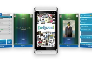 Video: CardLearner 4.7 for Symbian, free at Nokia Store, demoed on Nokia N8