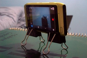N8 Tip: Home-made DIY Tripod! (Actually a Quadpod)