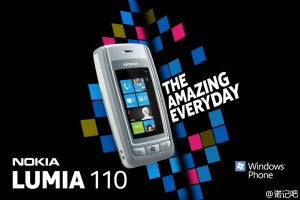 Nokia Lumia 110 Windows Phone Concept