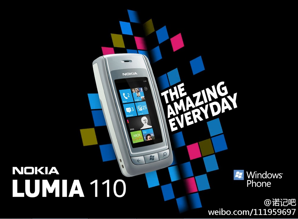 work called the Nokia Lumia 110. Pretty good job who ever made this