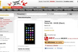 Mega Price Drop, Nokia N9 64GB for 449EUR! (£372) at FNAC Portugal!