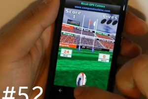 Lumiappaday #52: Finger Rugby demoed on the Nokia Lumia 800