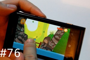 Lumiappaday #76: Bouncy Mouse demoed on the Nokia Lumia 800