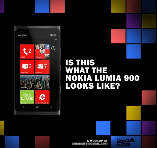 Nokia Lumia 900 to be announced tomorrow, 'sleek metallic'?
