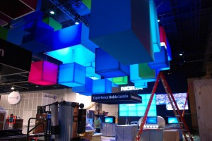 Sneak Peek at the Nokia CES Booth and Nokia Lumia 900