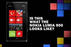 Is this what the Nokia Lumia 900 looks like? Mock up&#8230;