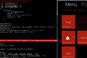 Video: WP7 style &#8220;plate animation&#8221; in QML