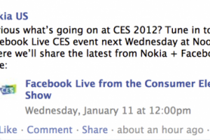 Are Nokia and Facebook up to Something? (Crazy Thoughts)