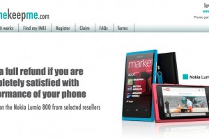 Full refund on Lumia 800 after 40 days at selected retailers