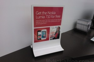 Nokia Lumia 710 Free with qualifying plan at Microsoft Store, Virginia