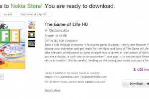 Game of Life, available at Nokia Store for Symbian^3 (Nokia N8 Anna)