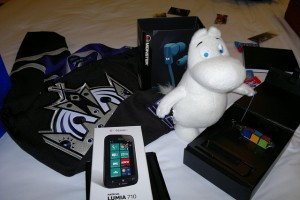 CES Swag: Lumias, Nokia Puritys, and a fluffy Moomin! (And countdown to Nokia CES announcement)
