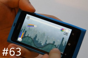 Lumiappaday #63: Rainbow Rapture demoed on the Nokia Lumia 800