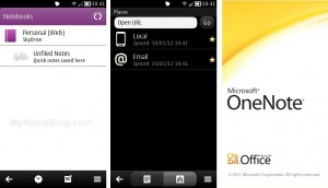 Microsoft Lync, One Note and Office available for Belle?