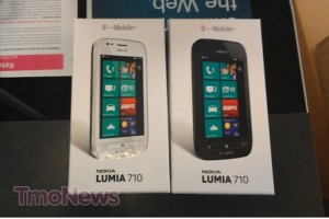 Nokia Lumia 710 arriving at T-Mobile USA stores.
