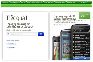 Where's the Nokia Belle coming soon page gone at Nokia Vietnam's site?