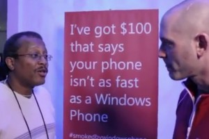 Videos: Smoked by Windows Phone, Ben the PC guy's CES Challenge