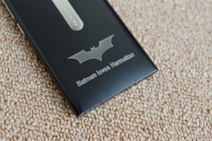Batman Loves Harmattan: Batman Laser Etched Nokia N9