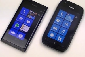 Video: Nokia Lumia 800 vs Nokia Lumia 710