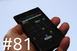 Lumiappaday #81: Chromatic demoed on the Nokia Lumia 800
