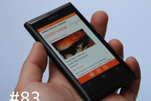Lumiappaday #83: Allrecipes on the Nokia Lumia 800