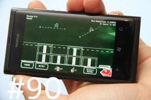 Lumiappaday #90: Implode! demoed on the Nokia Lumia 800 #XboxLive
