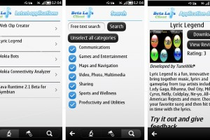Nokia Beta Labs Client for Symbian! Make trying Beta Labs apps easier!