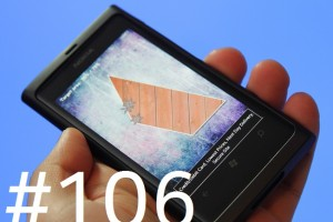 Lumiappaday #106: Hard Blade demoed on the Nokia Lumia 800