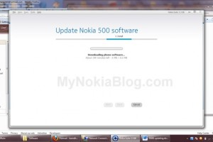 Nokia 500 update to Nokia Belle available at Nokia Suite? (Update: Yes, it's official)